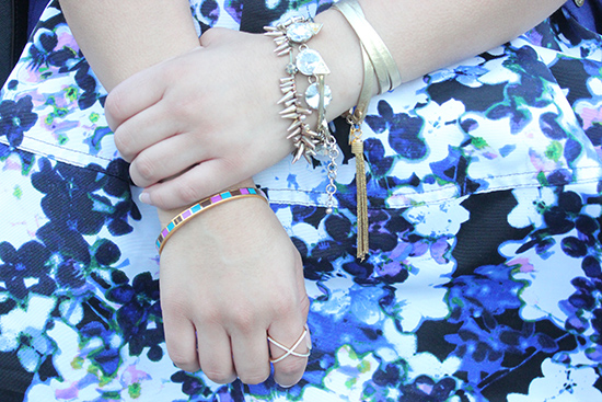 Gold Arm Party | Will Bake for Shoes