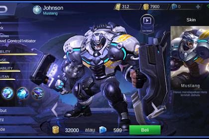 Tips Dan Trik Menggunakan Hero Johnson Beserta Buildnya