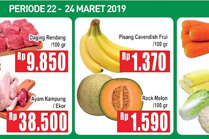 Banner Promo Hypermart periode 22 - 24 Maret 2019