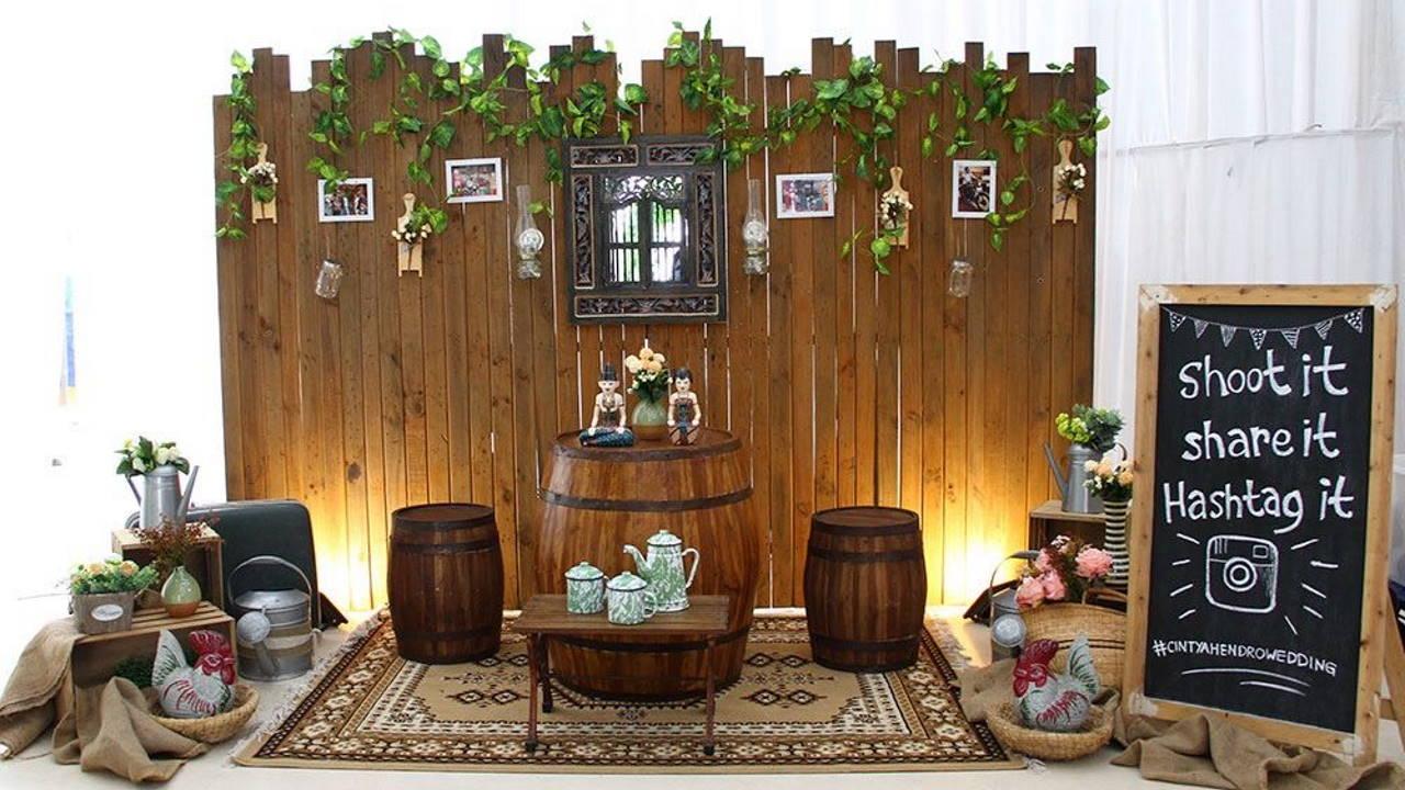 Dekorasi Foto Booth
