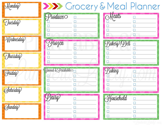 grocery planner