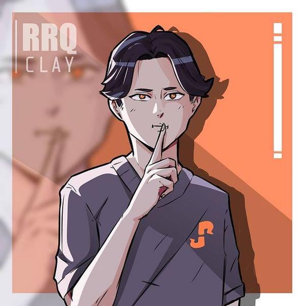 profil biodata rrq clay