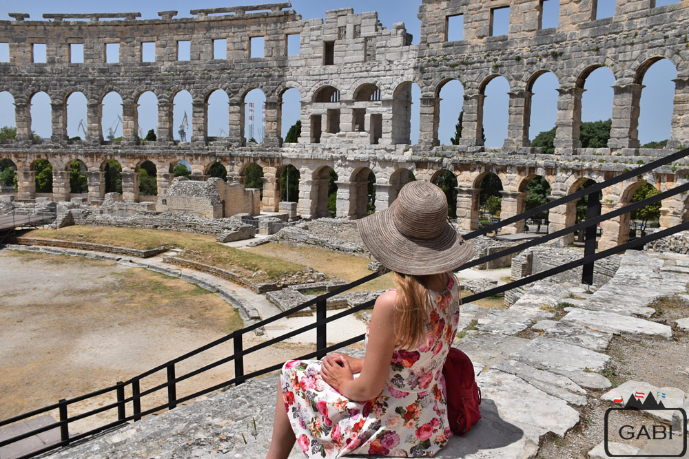 Chorwacja Pula amfiteatr