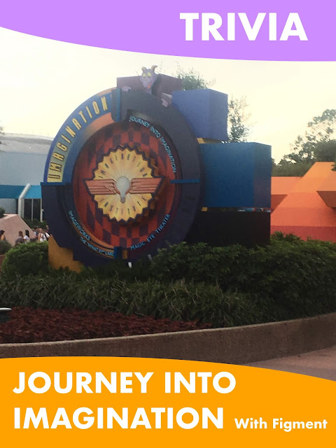 Trivia Journey Into Imagination With Figment Epcot Disney World