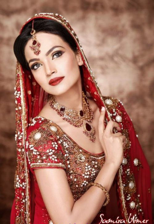 Latest Bridal Makeup Fashions By Amina Sheikh L Amina Sheikh