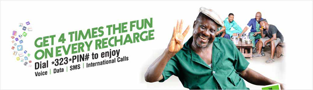 Recharge Glo Airtime With *323* Instead of *123* and Get x4