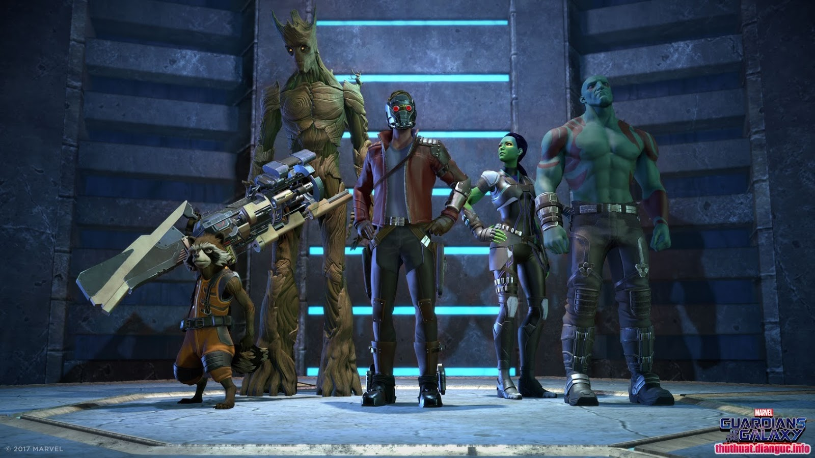 Download game phiêu lưu Marvels Guardians of the Galaxy Episode 1 , Marvel's Guardians of the Galaxy: The Telltale Series Free Download