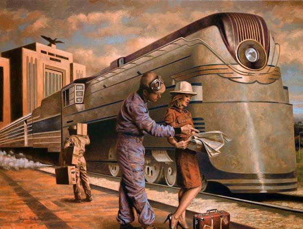 Art Contrarian Peregrine Heathcote' 1930s Pseudo-nostalgia
