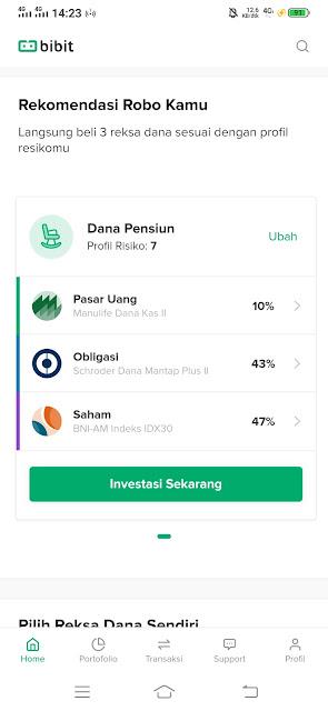 Cara memulai investasi di Bibit