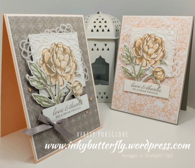 Nigezza Creates with Stampin' Up! & friends The Project Share 16th July