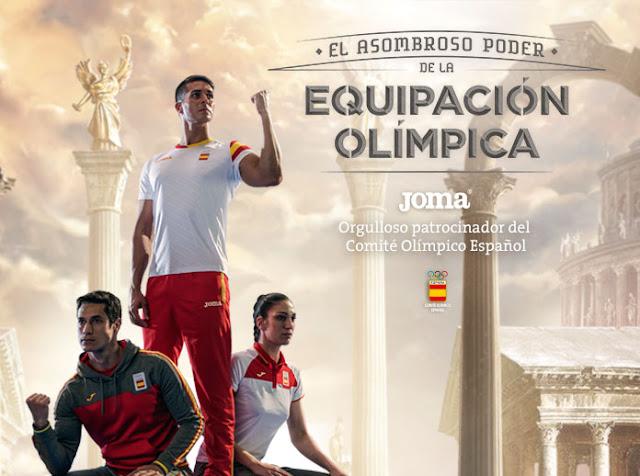 Joma presenta la colección del Equipo Olímpico Español para Río