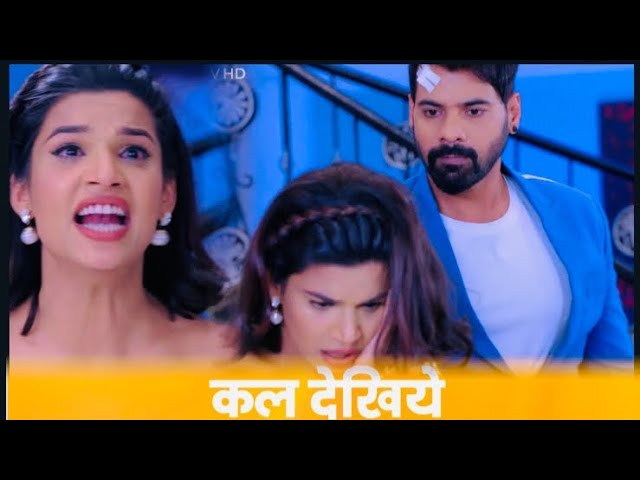 What! Abhi hard slap to Rhea proves Prachi innocent forth family in Kumkum Bhagya