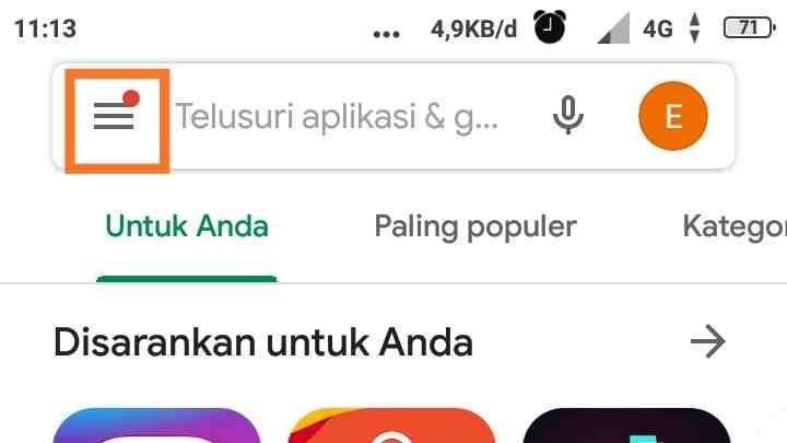 Cara inject aplikasi bawaan Android
