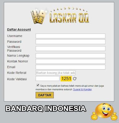 Daftar BandarQ Indonesia