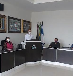 Presidente eleito para segundo biênio da CMCDD, Poliano Henrique Pereira , em discurso agradeceu aos seus pares pela confiança