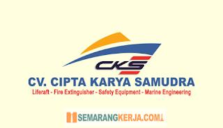 Lowongan Kerja Helper Teknisi di CV. CIPTA KARYA SAMUDERA Semarang Juli 2021