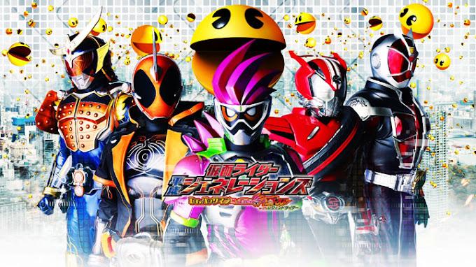 Kamen Rider Heisei Generations: Dr. Pac-Man vs. Ex-Aid & Ghost With Legend Rider Subtitle Indonesia
