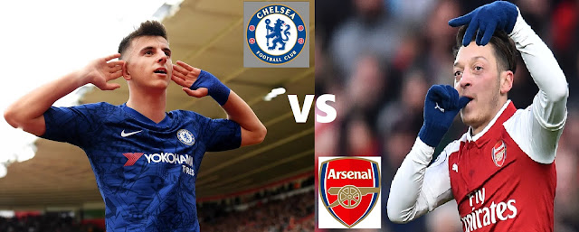 Jadwal Liga Inggris 2019 Pekan 20 : Big Match Arsenal Vs Chelsea