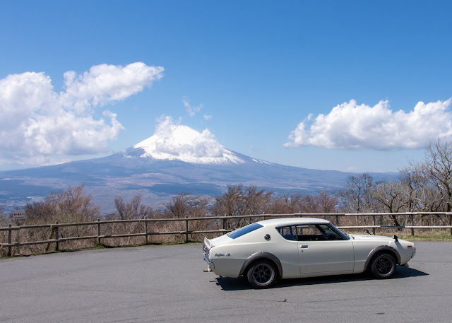 C110 Skyline Kenmeri With Mt Fuji
