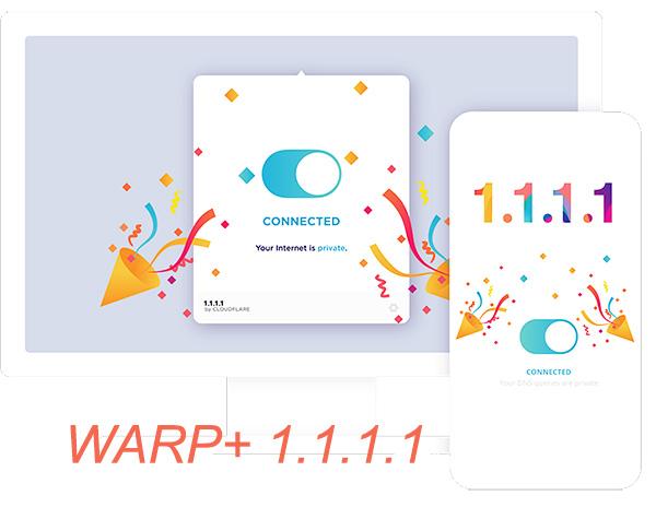 Tải WARP+ 1.1.1.1 cho PC giúp truy cập internet tốc độ nhanh hơn b