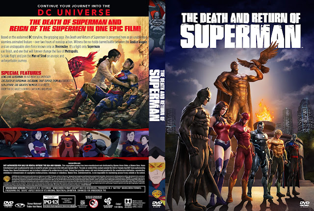The Death and Return of Superman DVD Cover