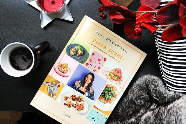 livre recettes pizza sushi geneviève everell sushi à la maison