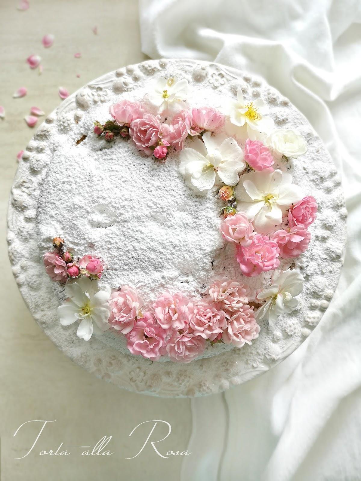 torta alla rosa