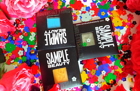 Sample Beauty Single Eyeshadows  Review & Swatches