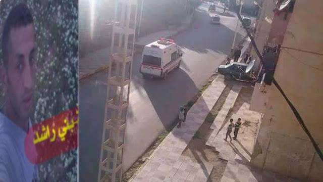 تشييع جنازة الفقيد محمد بوخروبة ببلدية بني راشد
