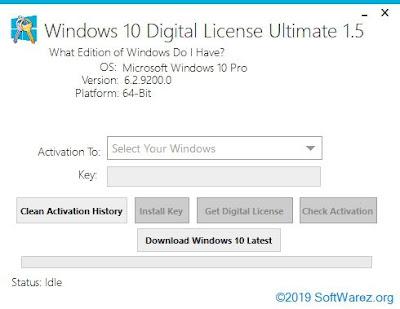 Windows 10 Digital License Ultimate 1.5