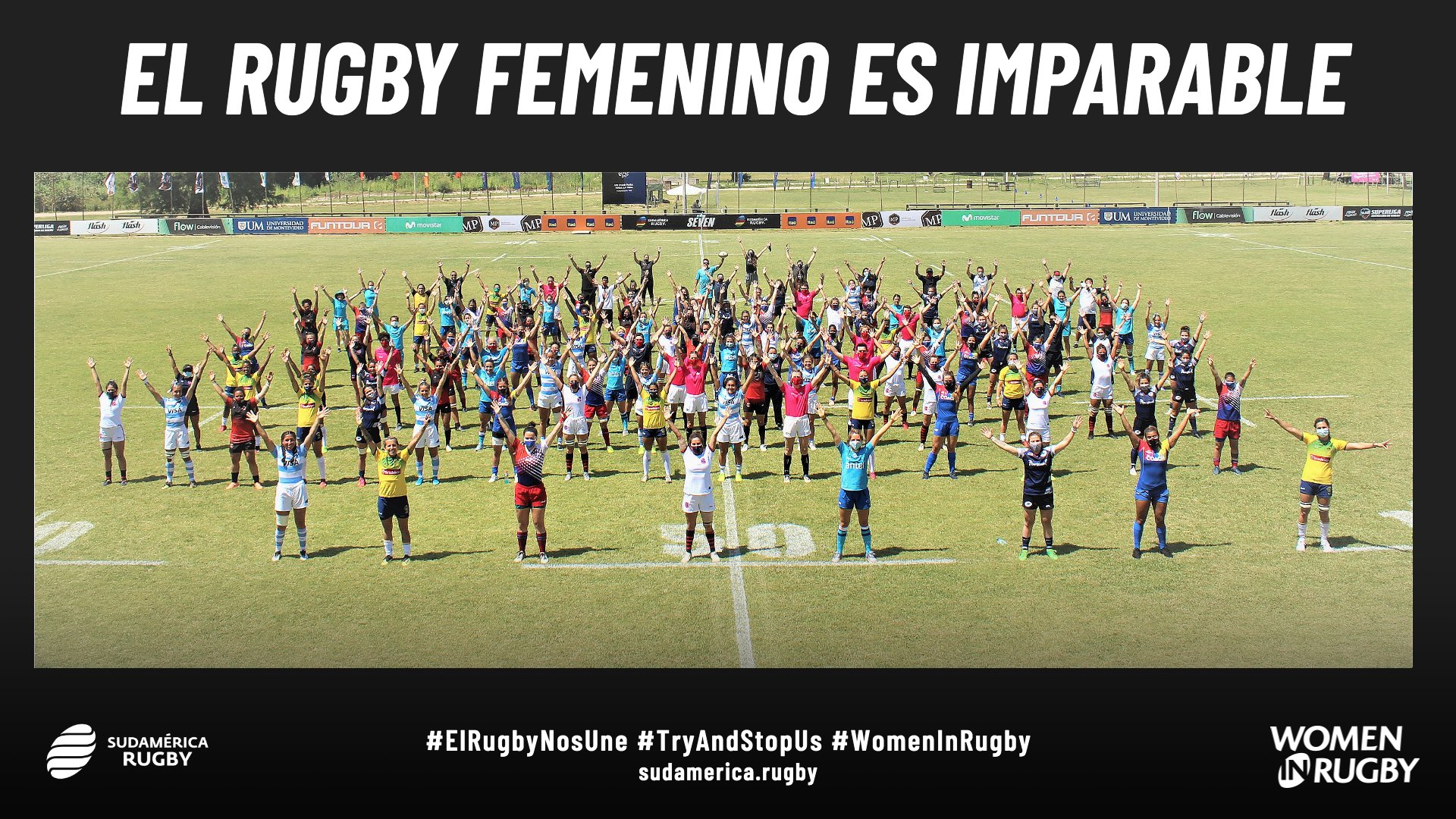 El Rugby femenino es imparable #TryAndStopUs #WomenInRugby