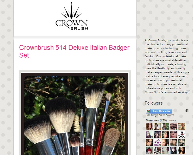 Crown Brush: Become our Affiliate at Crownbrush!