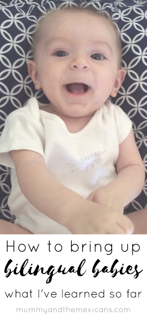 How To Bring Up Bilingual Babies - What I've Learnt So Far - Baby Laughing Long Pin