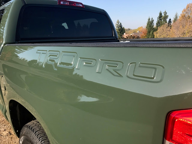 Stamped bed of 2020 Toyota Tundra TRD Pro CrewMax