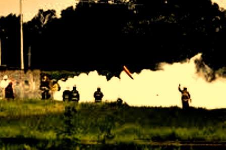 Sellan fuga de gas en Texmelucan