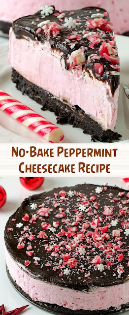 No-Bake Peppermint Cheesecake Recipe