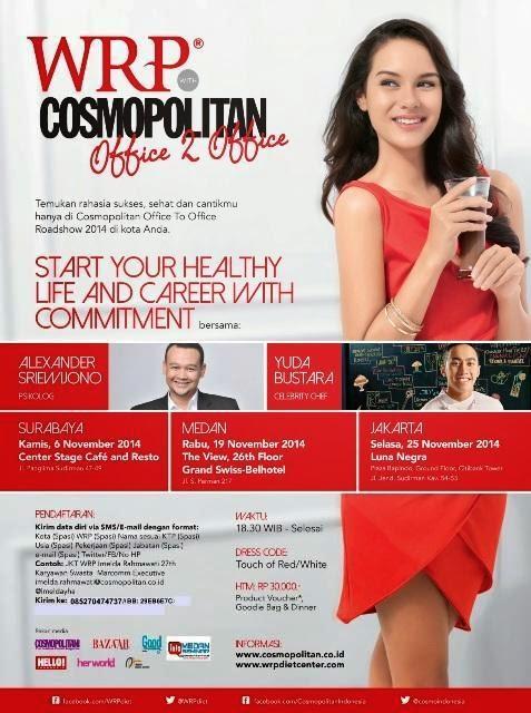 RAHASIA SUKSES, SEHAT & CANTIKMU di Cosmopolitan Office To Office