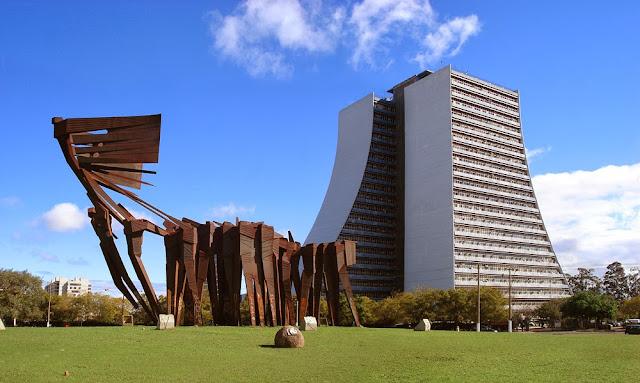 Monumento aos Açorianos - Porto Alegre - Rio Grande do Sul - Brasil