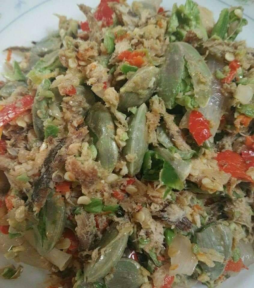 Resepi Sambal Tumbuk Petai & Ikan,Enak Di Makan Bersama Nasi Putih - Dari Dapur Kak Tie