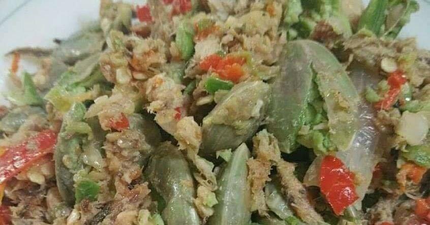 resepi sambal tumbuk petai ikanenak  makan bersama nasi putih  dapur kak tie Resepi Guna Isi Ayam Enak dan Mudah