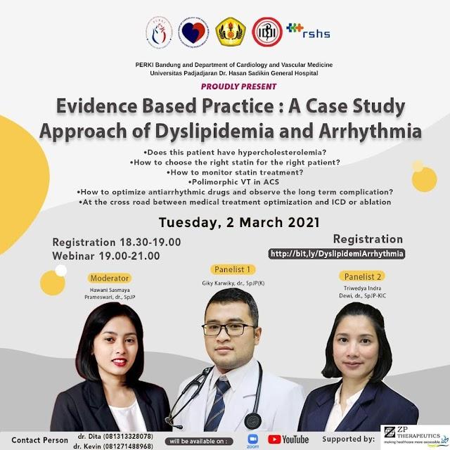 Free Webinar  Evidence Based Practice: A Case Study Approach of Dyslipidemia and Arrhythmia