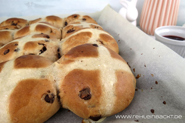 Hot Cross Buns | Foodblog rehlein backt