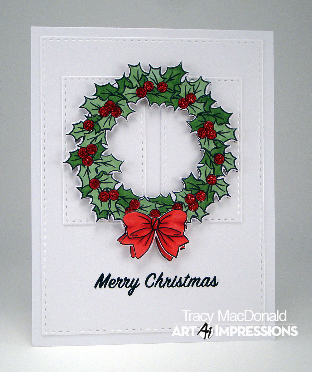 I Wanna Build a Memory: Christmas Wreath