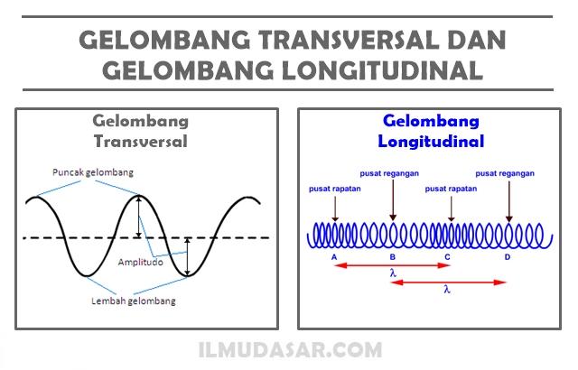 Gelombang Transversal, Gelombang Longitudinal