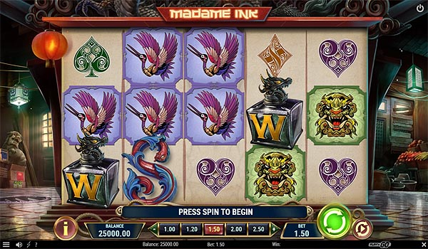 Main Gratis Slot Indonesia - Madame Ink (Play N GO)