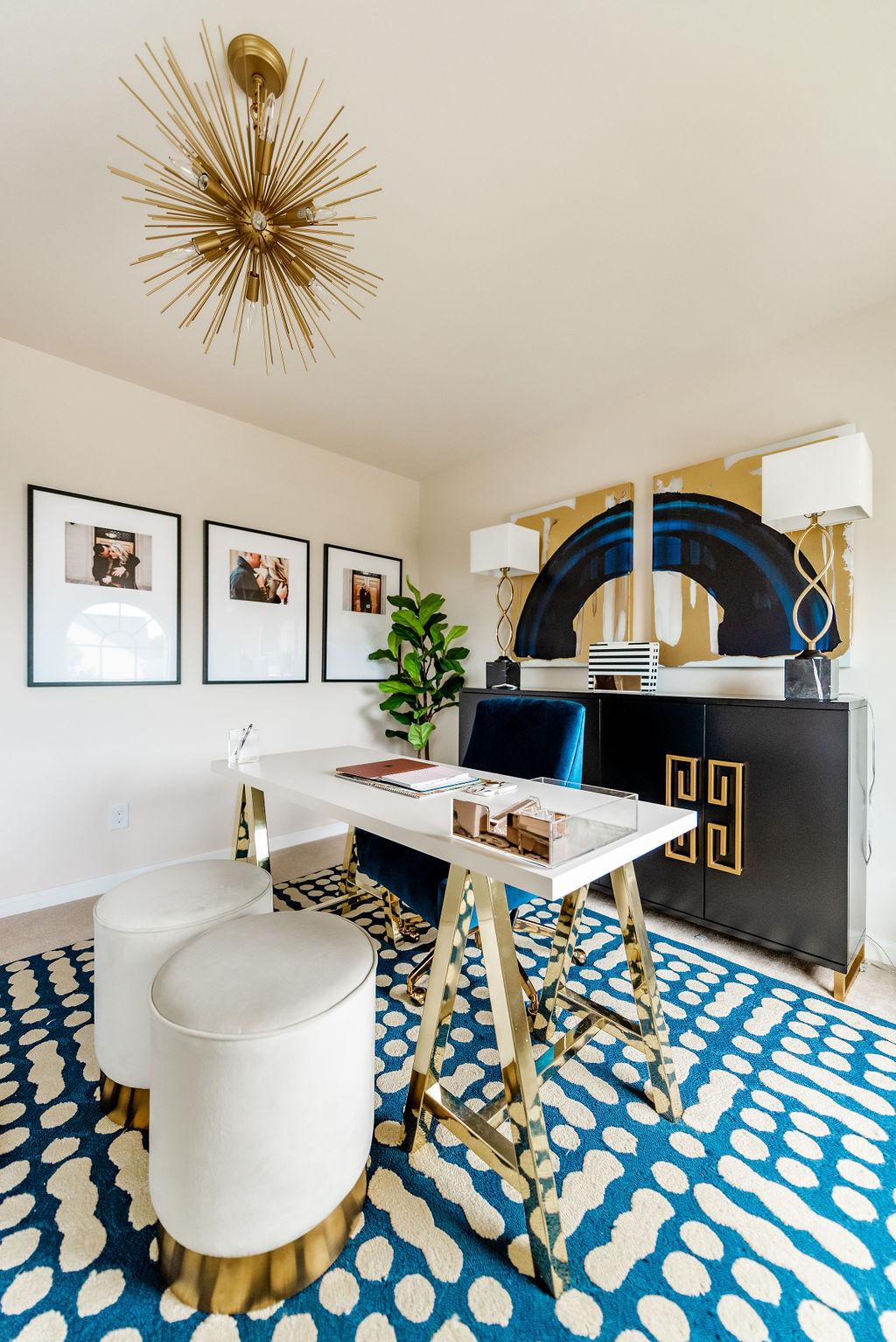 The Cheeky Been Jonathan Adler Inspired Blogger Home Office