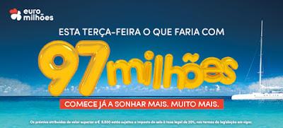 Imagem jackpot 97 milhões de euros