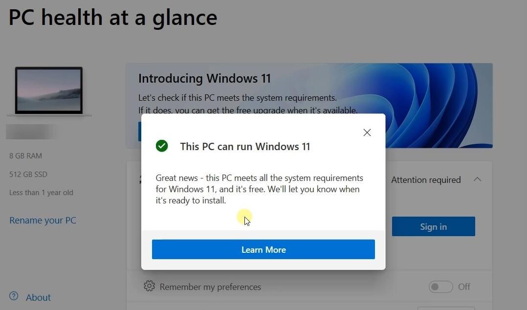 windows11 support