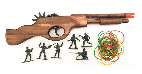 The Black Bear Destroyer Rubber Band Shotgun