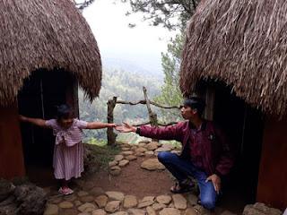 Citra dan Gufron di Rumah Papua